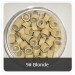 Load image into Gallery viewer, Silicone Lined Microrings Blonde 9#