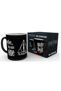 GBeye Heat Change Mug - Harry Potter Deathly Hallows