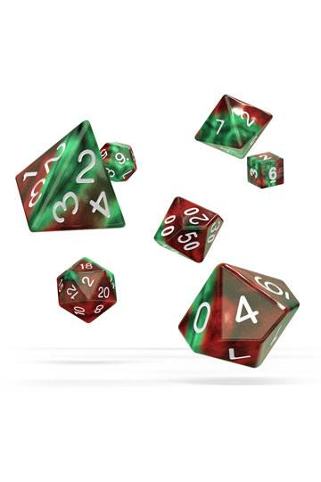 Oakie Doakie Dice RPG Set Gemidice - Bloody Jungle (7)