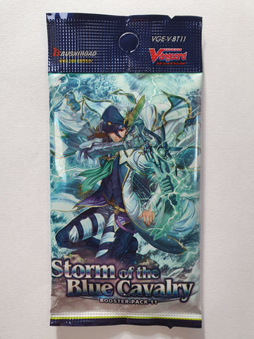 Cardfight!! Vanguard Storm Of The Blue Cavalry Booster Pack