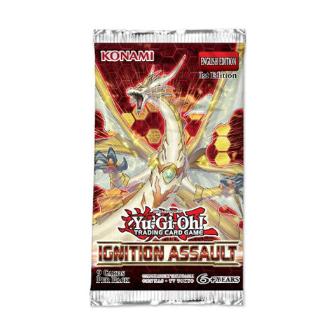 Yu-Gi-Oh Ignition Assualt Booster Pack