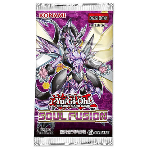 Yu-Gi-Oh Soul Fusion Booster Pack
