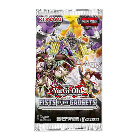 Yu-Gi-Oh Fist Of The Gadgets Booster Pack