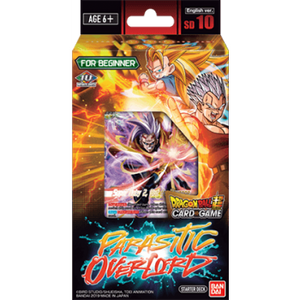 Dragon Ball Super Parasitic Overlord Starter Deck 10