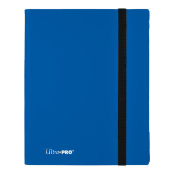 UP Eclipse Pro - 9 Pocket Binder Pacific Blue