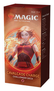MTG Cavalcade Charge Challanger Deck 2020