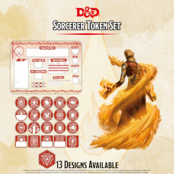 D&D - Sorcerer Token Set