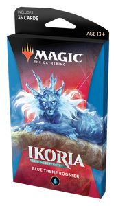 MTG Ikoria Theme Booster Blue