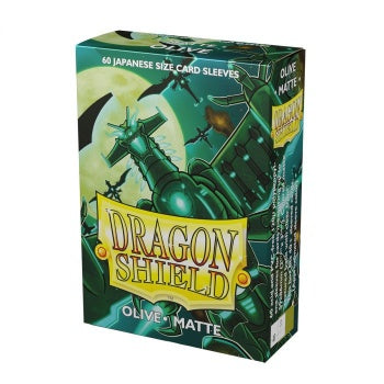 Dragon Shield Japanese Olive Matte Sleeves 60pc