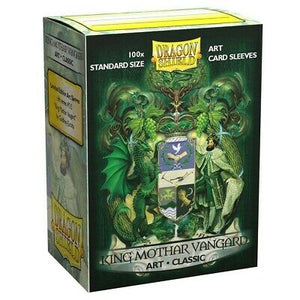 Dragon Shield King Mothar Vanguard Art Classic Sleeves 100pc