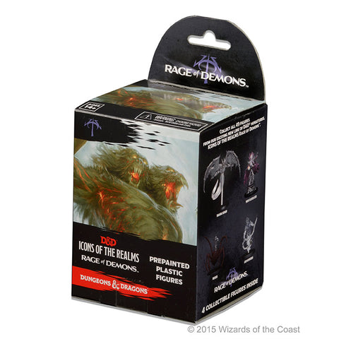 D&D Icons of The Realms - Rage of Demons Figures Booster Pack