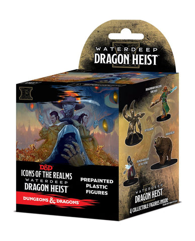 D&D Icons of The Realms - Waterdeep Dragon Heist Booster Pack