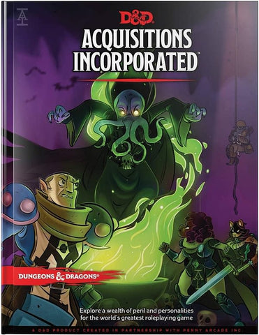 D&D Acquisistions Incorporated Book