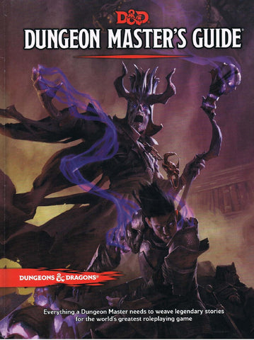 D&D Dungeon master's Guide Book