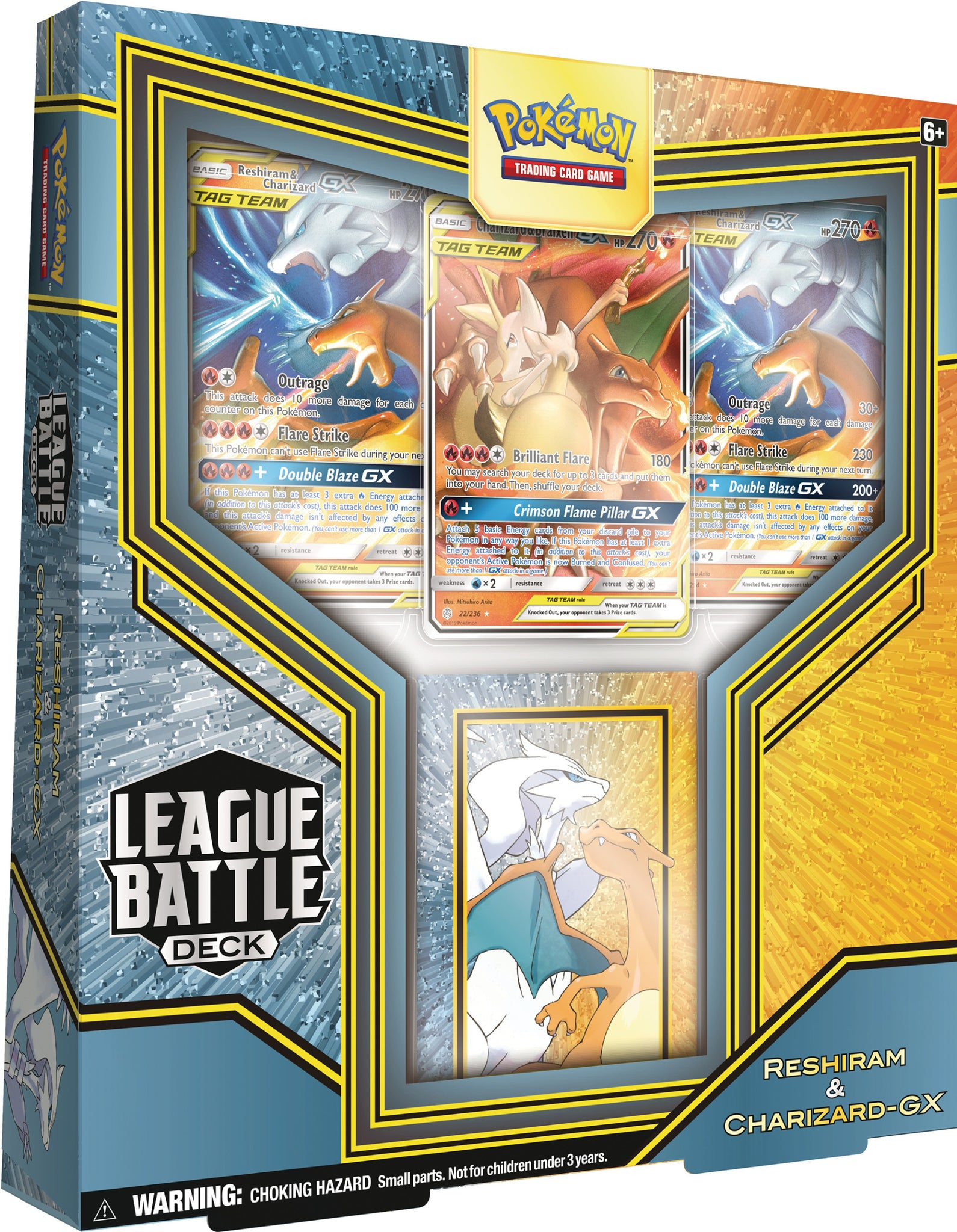 Pokemon League Battle Deck Rashiram & Charizard GX