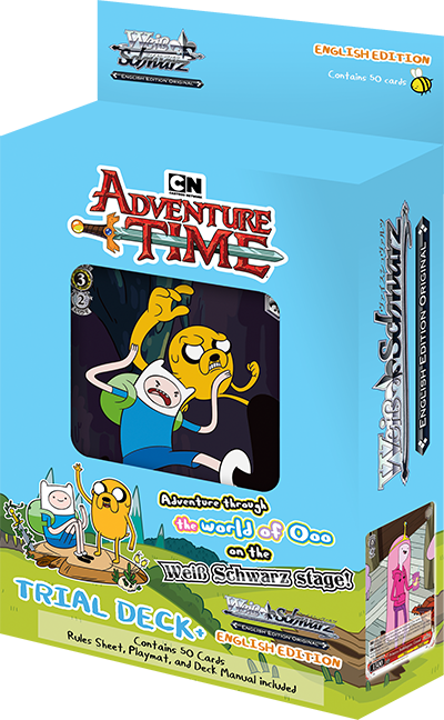 Weiss Schwarz Adventure Time Trial Deck+