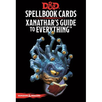 D&D Xanathar's Guide To Everything Spellbook Cards