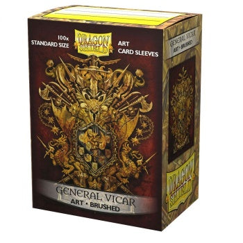 Dragon Shield General Vicar: Coat Of Arms Matte Art Sleeves 100pc