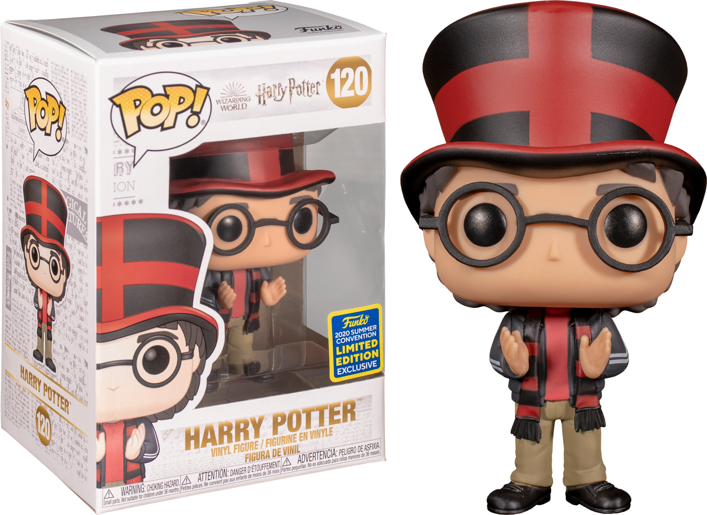 Harry Potter - Harry Potter at Quidditch World Cup Summer Convention 2020 Funko POP!