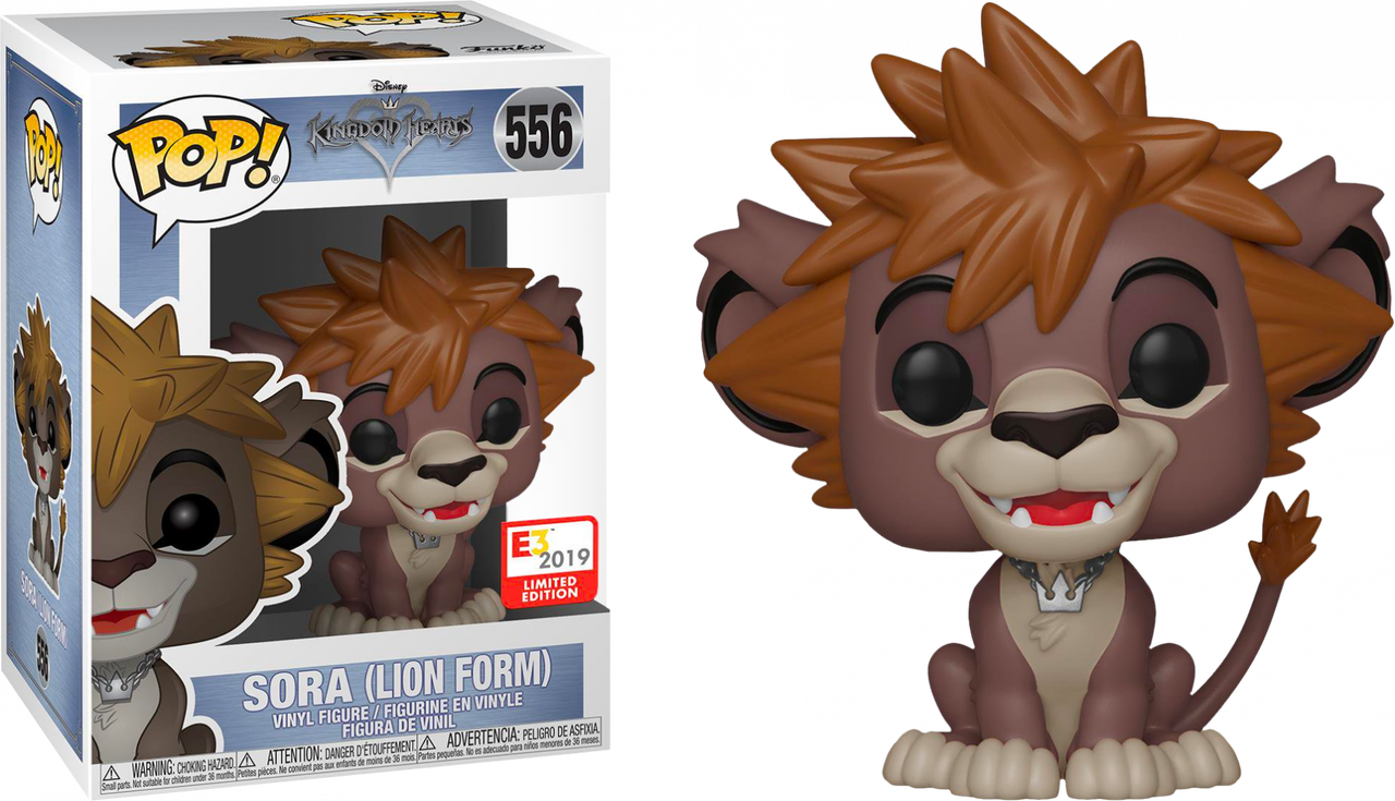 Kingdom Hearts - Sora In Lion Form E3 2019 Exclusive Funko POP!