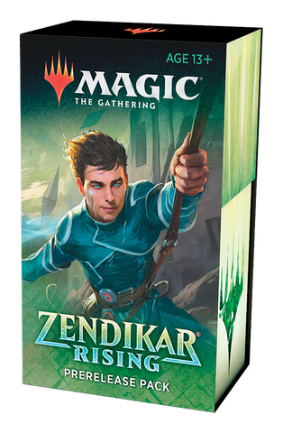MTG Zendikar Rising Prerelease Kit + 2 Packs