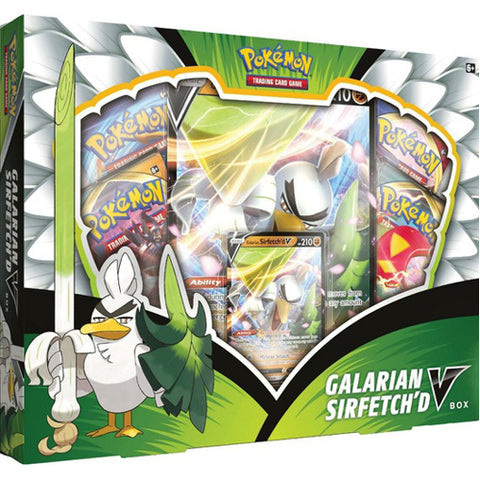 Pokemon Galarian Sirfetch'd (September V) Box