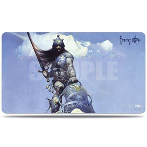 UP - Frank Frazetta Playmat - Silver Warrior