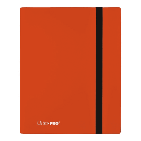 UP Eclipse Pro - 9 Pocket Binder Pumpkin Orange