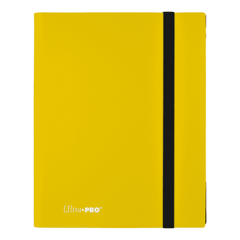 UP Eclipse Pro - 9 Pocket Binder Lemon Yellow