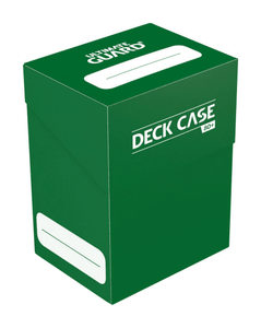 Ultimate Guard 80+ Deck Case Green