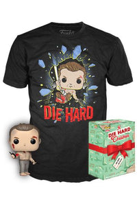 Die Hard - John McClane Funko Pop! Tee Box