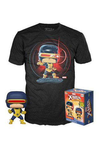 Marvel 80th- First Appearance Cyclops Funko Pop! Tee Box