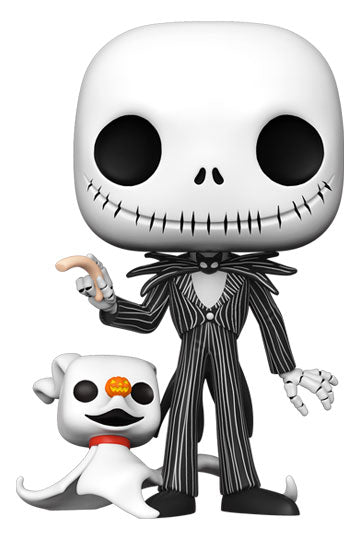 Nightmare Before Christmas - Jack With Zero (Supersize) Funko POP!