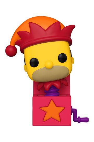 The Simpsons - Homer Jack-In-The-Box Funko POP!