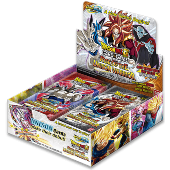 Dragon Ball Super Rise Of The Unison Warrior Set 10 Booster Box