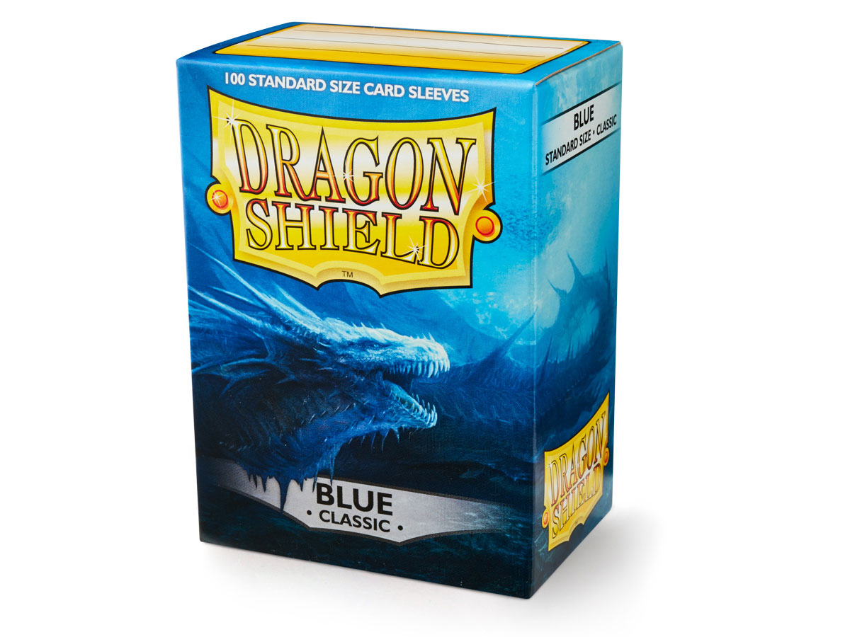 Dragon Shield Blue Classic Sleeves 100pc