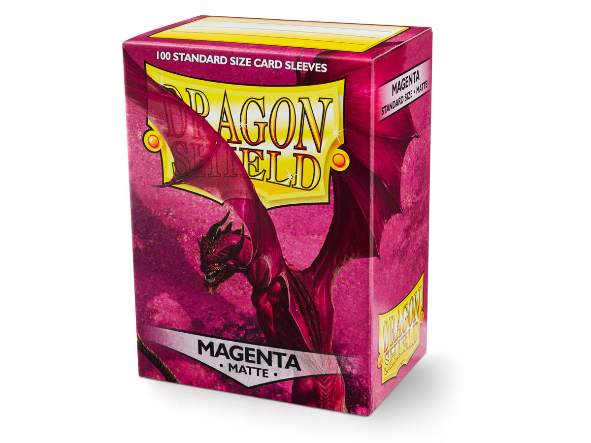 Dragon Shield Magenta Matte Sleeves 100pc