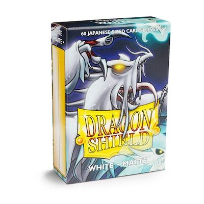 Dragon Shield Japanese White Matte Sleeves 60pc