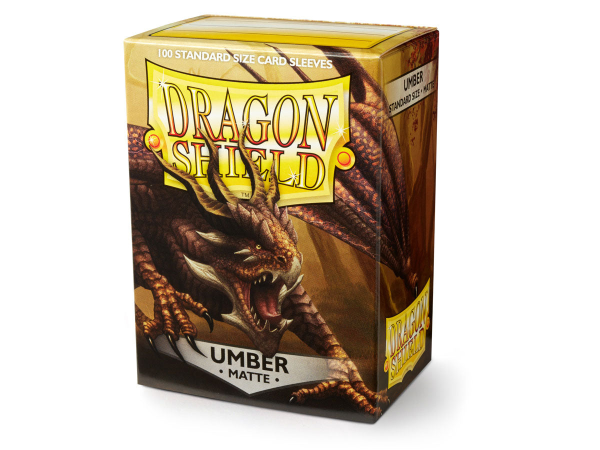 Dragon Shield Umber Sleeves Matt 100pc