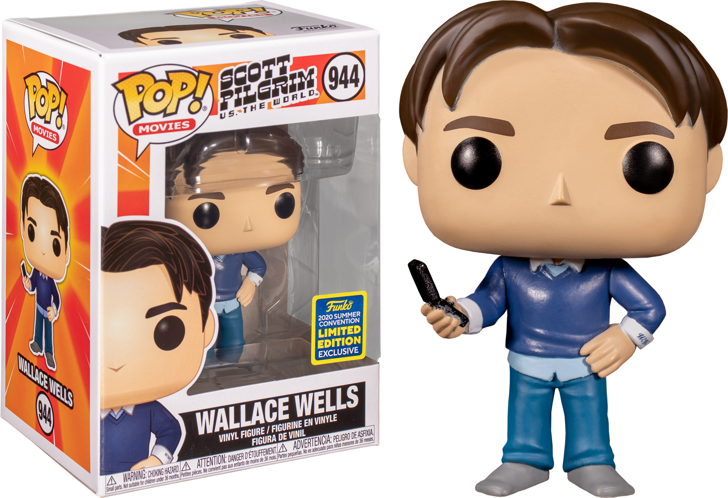Scott Pilgrim vs. the World - Wallace Wells Summer Convention 2020 Funko POP!