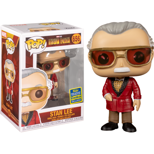 Iron Man - Stan Lee as Hugh Hefner Cameo Summer Convention 2020 Funko POP!