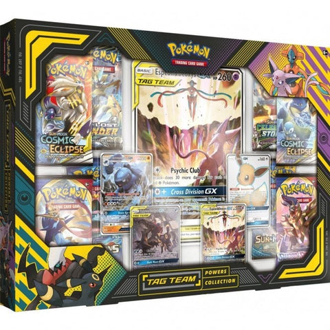 Pokemon Tag Team Power Collection Espeon & Deoxys Box