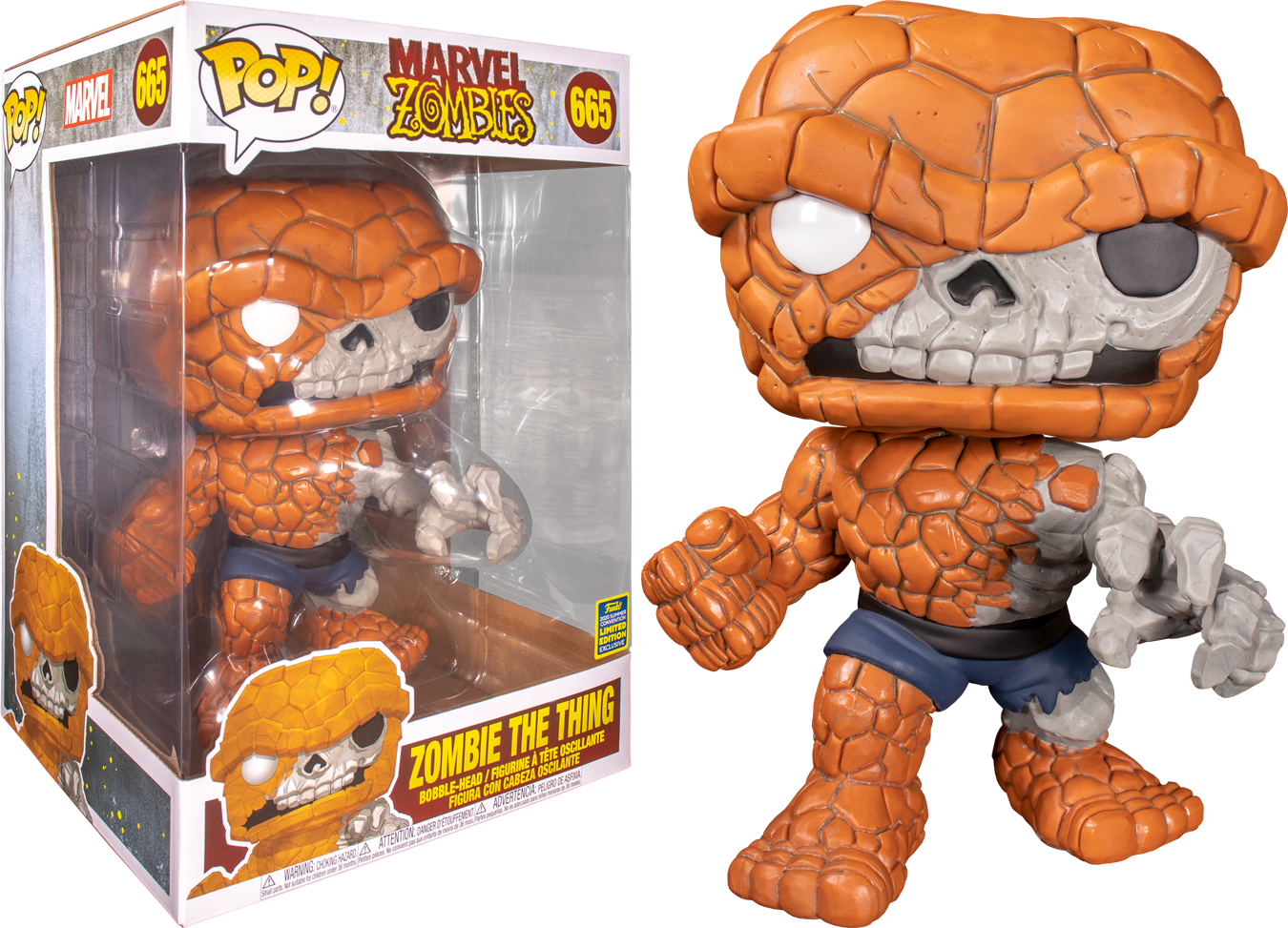 Marvel Zombies - The Thing Zombie (Supersize) Summer Convention 2020 Funko POP!
