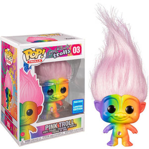 Good Luck Trolls - Pink Troll Wonder Con 2020 Exclusive Funko