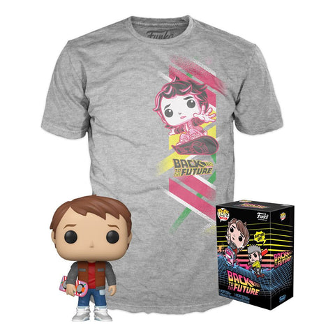 Back To The Future - Marty Exclusive Funko Pop! Tee Box