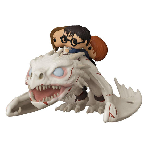 Harry Potter - Dragon w/Harry, Ron, & Hermione Funko POP!