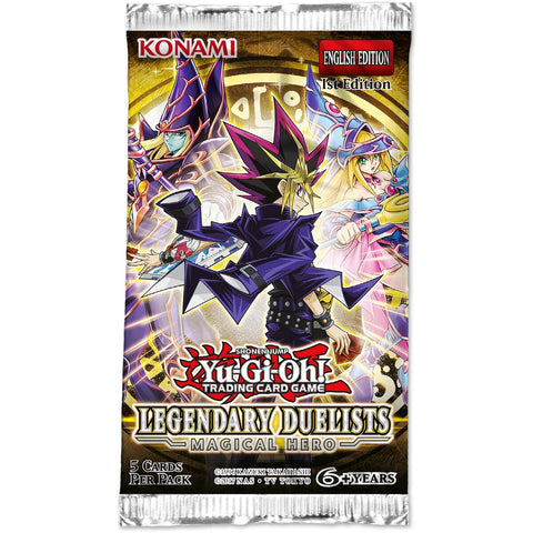 Yu-Gi-Oh Legendary Duelist: Magical Hero Booster Pack