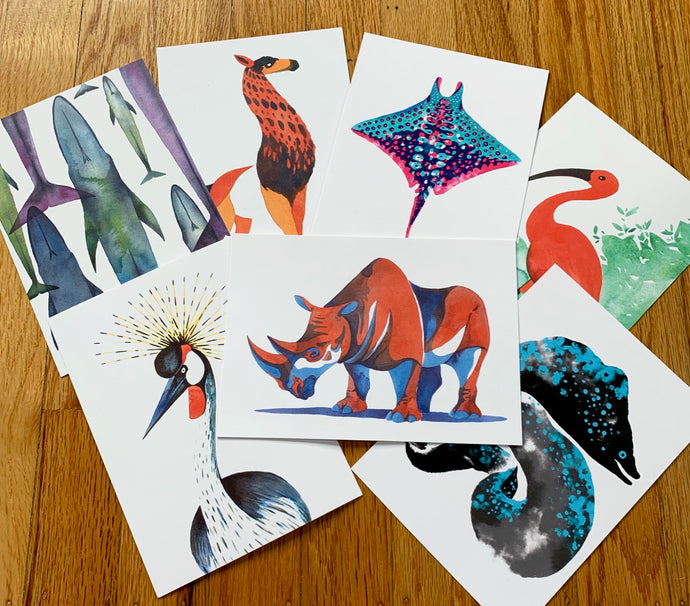 Wildlife Postcard Pack