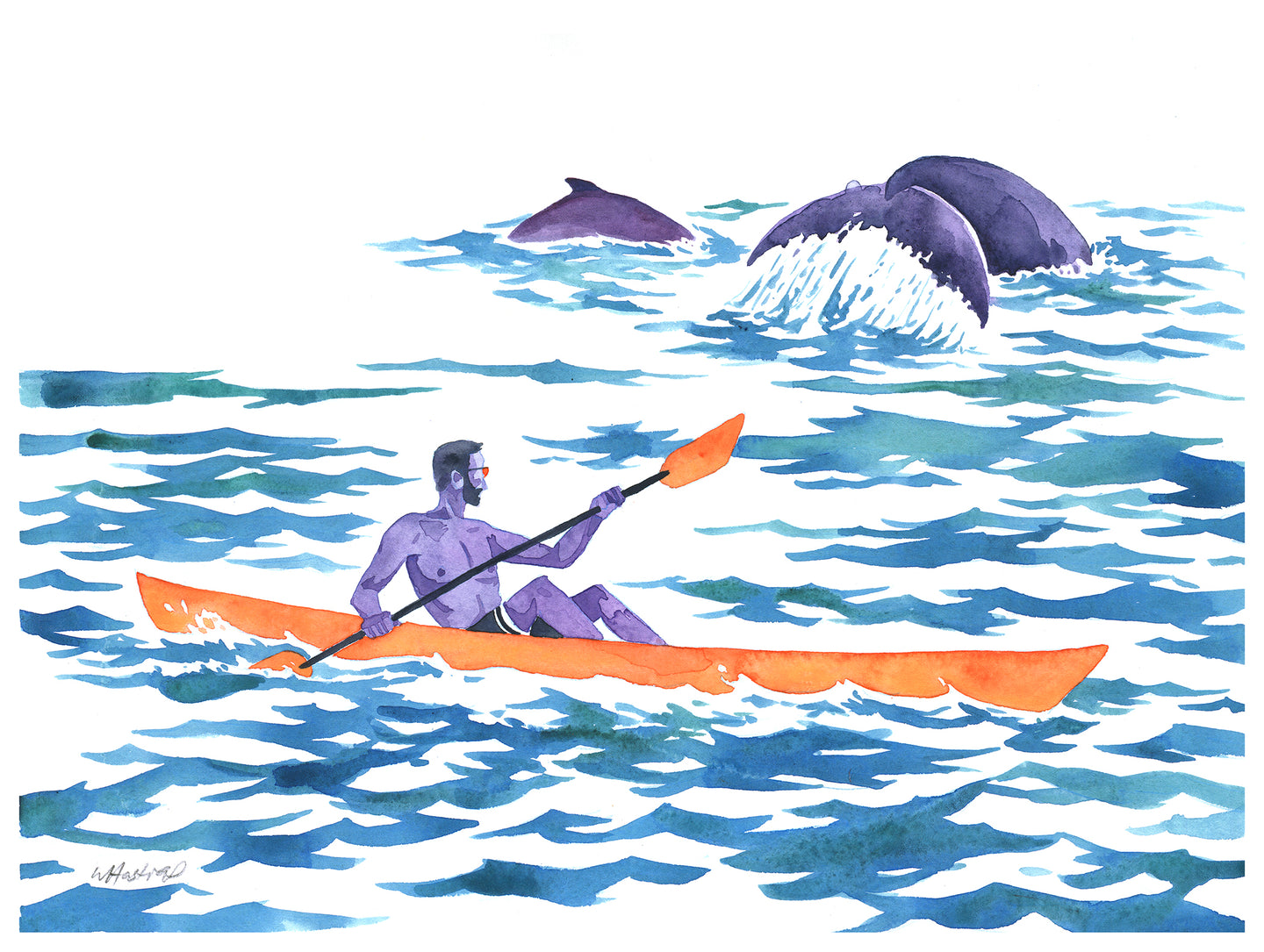 Sea Kayaker - Original