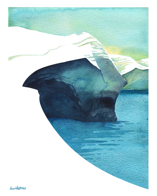 Milos Study #1- Original Watercolor Painting